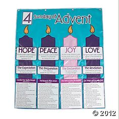 Advent Calendar Pocket Chart, Flip & Pocket Charts, Teacher Resources, Teaching Supplies - Oriental Trading