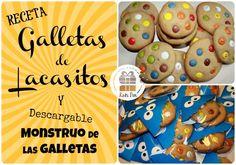 Kuki Box. Tartas y Galletas en Valencia: #RECETA Galletas de Lacasitos y empaqueteado monstruoso  www.kukibox.com