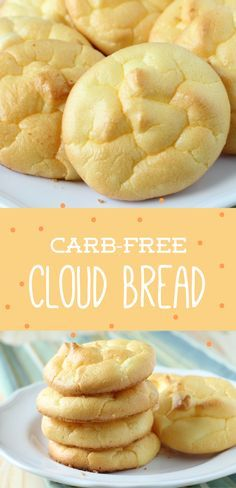 Cutting down on carbs? Try this Carb Free Bread, fluffy as a cloud.