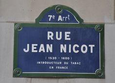 Paris street sign.