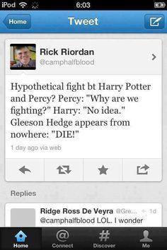 ... BAHAHAHA! I heart Rick... besides the times he's a troll......