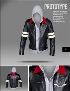 #Chaqueta modelo Prototype 1 Alex Mercer. Corte slim-fit. #moda