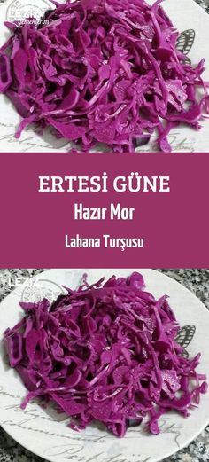 Ertesi Güne Hazır Mor Lahana Turşusu - Leziz Yemeklerim - Çorba Tarifleri - Las recetas más prácticas y fáciles Best Pasta Dishes, Best Pasta Salad, Bacon Casserole Recipes, Purple Cabbage, Sunflower Tattoo Design, Cabbage Soup, Turkish Recipes, Homemade Beauty Products, Sauerkraut