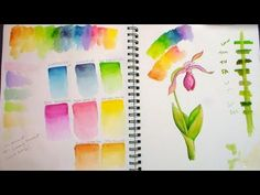 Windsor and Newton Water Colour Marker review and Demo - YouTube