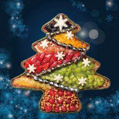 2014年10月21日(火)より、キル フェ ボンがクリスマス限定タルトの予約販売を開始する。今「〜タルト プレミエ〜 フルーツのクリスマスツリータルト」