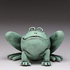 FROG! ceramic,handmade, clay                                                                                                                                                                                 More