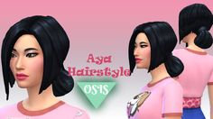 AYA HAIRSTYLE / MAXIS MATCH (18 EA COLORS)DOWNLOAD - MediaFire FEEL FREE TO REBLOG AND FOLLOW, MORE COMING YOUR WAY SOON X