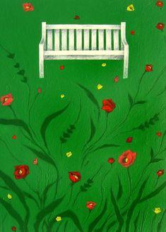 나쁜꽃밭 Bad a Flower Garden Naive Art, Pencil Illustration, Background Patterns, Views Album, Colored Pencils, Flowers, Yandex Disk, Potato, Couch