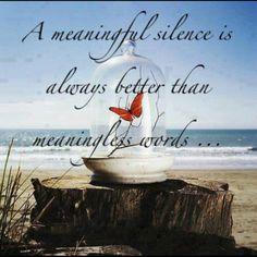 Meaningful Silence