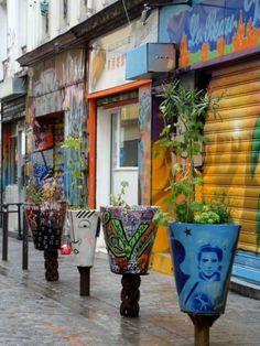 rue Dénoyez - Paris 20ème