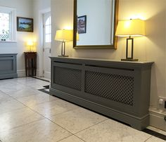 Radiator covers modern style cabinets made to measure bespoke custom home design cover ideas hallway . Radiator Heater Covers, Modern Radiator Cover, Custom Radiator Covers, Painted Radiator, Mirror Radiator, Home Decor Hooks, Designer Radiator, Radiator Cover, Home