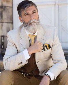 他就是「地表上最讓人著迷的60歲帥爺爺模特兒」,當他化身霸氣總裁時連少女都情不自禁戀愛了! - boMb01