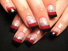 Nail Art Quality: Bodily Manicure With Lace -Nail Art Collection