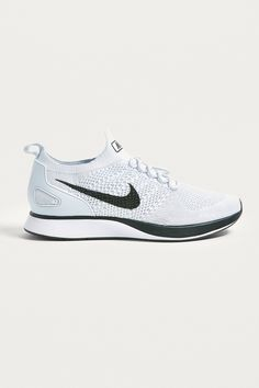 88c4f4e5fa31a4 Shop Nike Air Zoom Mariah White Flyknit Trainers at Urban Outfitters today.  We carry all