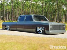 1989 #Chevy C30 Crew Cab: Busted Knuckles - Backyard-Built Square Body - Read More: http://www.truckinweb.com/features/1302tr_1989_chevy_c30_crew_cab/