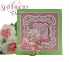 View Blog Post | Spellbinders - Proud of You! card by designer @Darsie Bruno