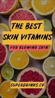 Curious about the best skin foods to eat? Want to understand which vitamins, minerals and nutrients your skin needs most to naturally shine? In this guide, we cover both so you know exactly what to do to reach your personal skin care goals. Vitamins For Healthy Skin, Vitamins For Hair Growth, Daily Vitamins, Healthy Skin Care, Skin Vitamins, Foods For Skin Health, Energy Vitamins, Best Foods For Skin, Organic Skin Care