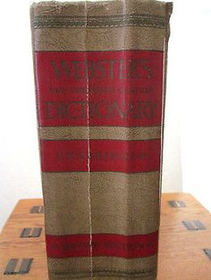 Webster's New Twentieth Century Dictionary Unabridged 2nd Edition 1964 Indexed