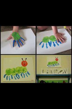 Bricolage souvenir facile a faire a la garderie comme a la maison !