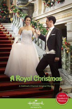 """A Royal Christmas"" (2014) - Premieres Saturday, November 22, 8/7c on the Hallmark Channel. | #christmasmovies"