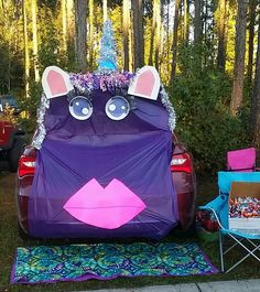 Trunk Or Treat Unicorn Trunk Halloween Unicorn