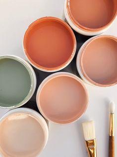 bedroom peach Color Inspo :: My Love for Warm Tones Again Colour Pallete, Colour Schemes, Color Combos, Orange Color Palettes, Earthy Color Palette, Terracota, Colour Board, Color Stories, My New Room
