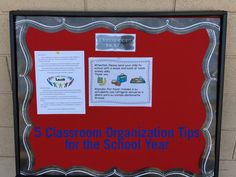 5 Classroom Organization Tips for the School Year