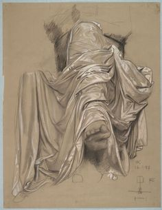 """From the Harvard Art Museums' collections Study for the """"Beethoven Monument"""" Max Klinger, Cave Drawings, Harvard Art Museum, Biro, Pictogram, Belle Epoque, Portrait, Les Oeuvres, Painting & Drawing"""