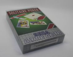 SOLITAIRE POKER    SEGA GAME GEAR