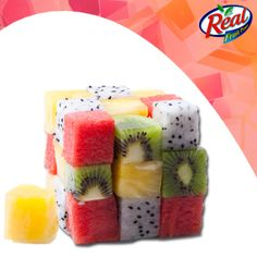 Can you guess the fruits in the cube?