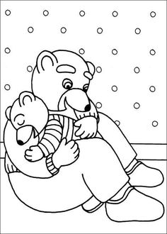 little brown bear coloring pages 39