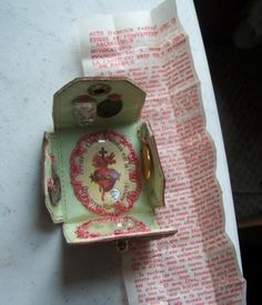 Vintage 1954 Pocket Shrine