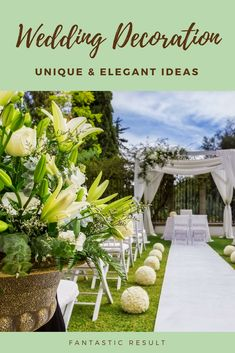 Liven Up Your Wedding Event Decorations By Using One Of These Beautiful Wedding Decor Creative Ideas. Quite A Few Of Our Wedding Decor Creative Ideas And Inspirations Are Which Is Designed To Be Workable Also Decorating.