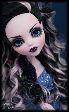 Ooak Monster High Doll #Mattel #Dolls