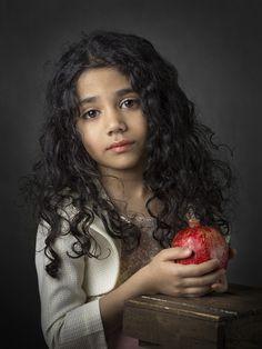A piece of fine art art photography titled Nazanin by parisa sedaghat Art Photography Portrait, Portrait Art, Children Photography, Fine Art Photography, Jolie Photo, Portrait Inspiration, Studio Portraits, Beautiful Children, Photos