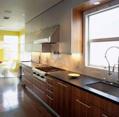 small modern kitchen