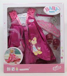 Baby Born Deluxe Prinzessinnen Kleid - Zapf Creation 821060  in Spielzeug, Puppen & Zubehör, Babypuppen & Zubehör, Kleidung & Accessoires | eBay