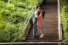 Lisa + Chris Engaged   Kerry Park Seattle Engagement