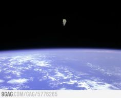 Epic photo from the space. The question is... who took it?