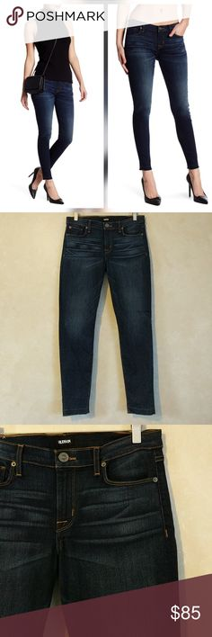 "Hudson Ankle Krista Released Hem Skinny Jeans New with tags. Perfect condition. No trades.  ""Thompson"" wash. Released hem  Approximate measurements Waist laying flat 16.5"" Rise 9"" Inseam 28.25"" Hudson Jeans Jeans"