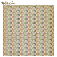 Rosy Love Blossoms Scrapbook Paper - 12