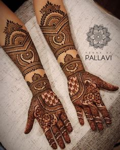 Simple Mehendi designs to kick start the ceremonial fun. If complex & elaborate henna patterns are a bit too much for you, then check out these simple Mehendi designs. Latest Arabic Mehndi Designs, Latest Bridal Mehndi Designs, Full Hand Mehndi Designs, Mehndi Designs 2018, Mehndi Design Pictures, Wedding Mehndi Designs, Mehndi Designs For Hands, Stylish Mehndi Designs, Mehndi Images