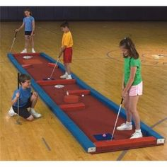 Complete Mini Golf System