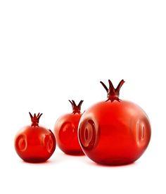 Glass Pomegranates