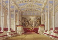 Buckingham Palace: The Private Chapel. This is where Queen Elizabeth was christened in It was destroyed in Abandoned Houses, Abandoned Ohio, Abandoned Castles, Abandoned Mansions, Abandoned Places, The Queen's Gallery, Royal Room, Buckingham Palace London, Palace Interior