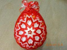Na želanie červené vajíčko 12 cm :D