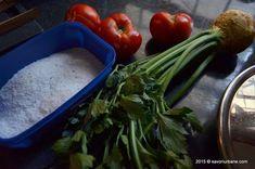 Bulion de rosii - reteta mamei mele | Savori Urbane Celery, Green Beans, Vegetables, Food, Essen, Vegetable Recipes, Meals, Yemek, Veggies