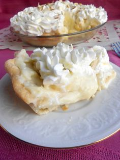 Banana Cream Pie!