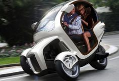 Icona E3WM Personal mobility vehicle at Shangai Motor Show