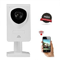 Wireless Camera, Nexgadget WiFi IP Camera Home Security with Two-Way Audio, Night Vision, Baby Pet Video Monitor Camera, Motion Detection, Network Surveillance Camera, White